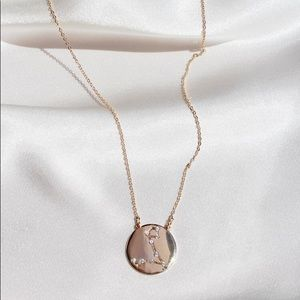 Pisces Zodiac Constellation Pendant Necklace